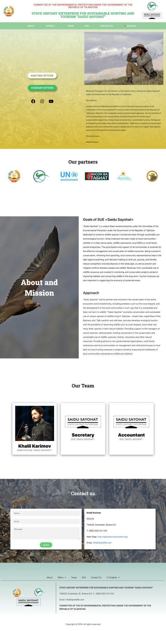 https://tajikistanconservation.org